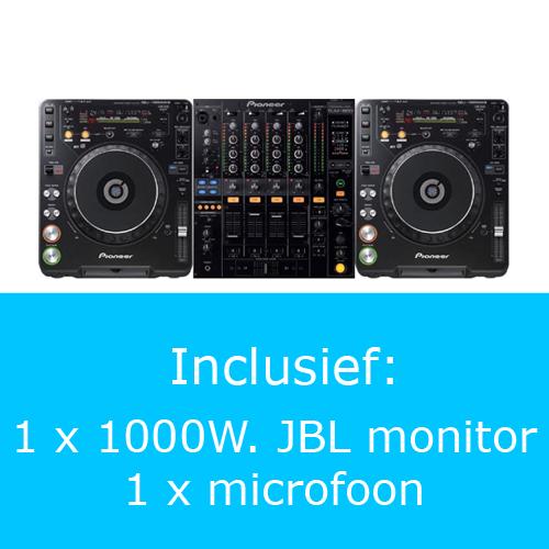 Pioneer PRO DJ set