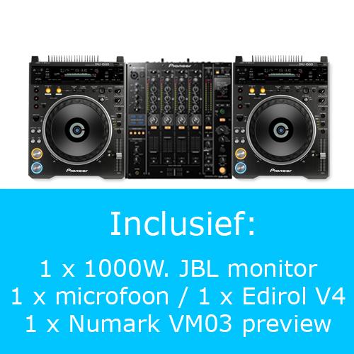 Pioneer VJ set