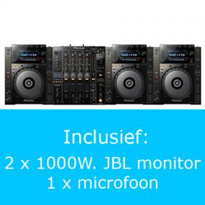 Pioneer 2000 PRO plus DJ set