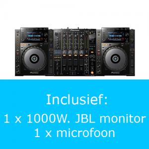 Pioneer 2000 PRO DJ set